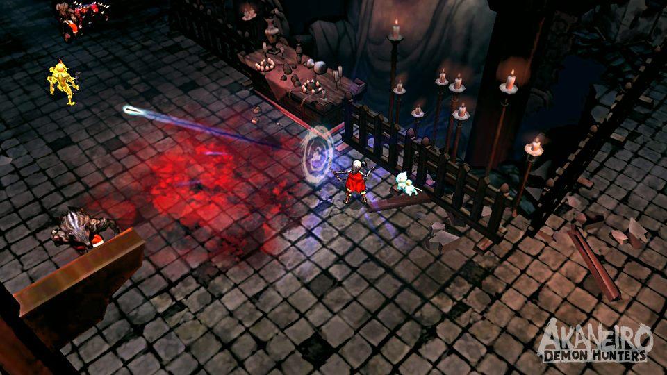 Akaneiro: Demon Hunters - Кровавая Шапочка от Американа МакГи - Изображение 5