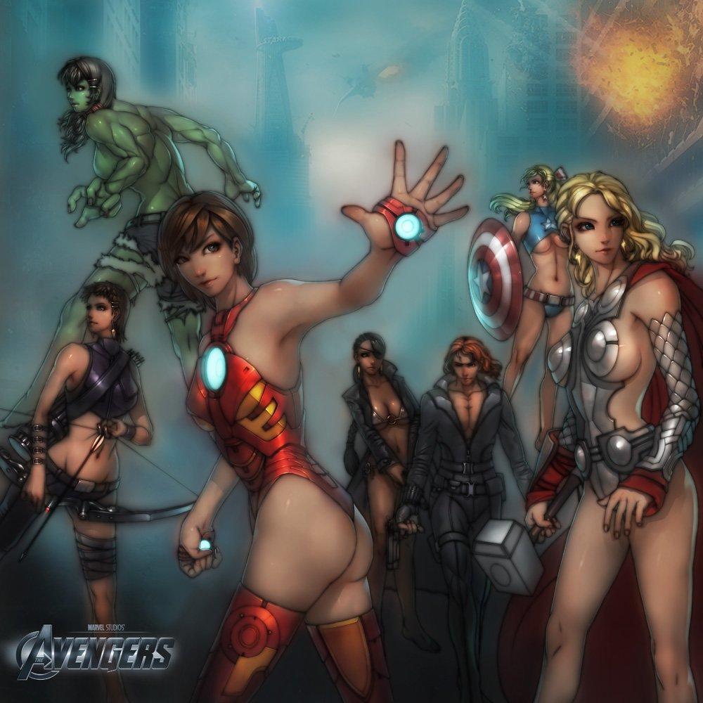 Галерея вариаций: Мстители-женщины, Мстители-дети... - Изображение 7