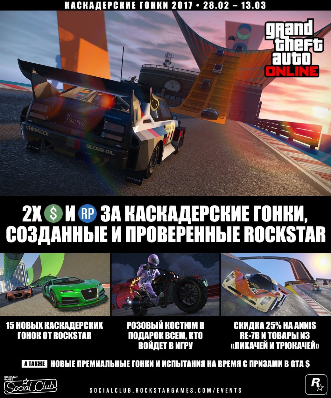Вышло бесплатное обновление для GTA Online с15 новыми гонками - Изображение 1