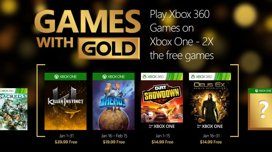 В январе «золотые» подписчики XBL получат четыре игры для Xbox One - Изображение 1