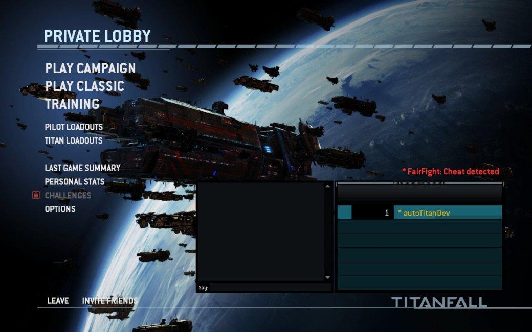 Titanfall оставит читеров наедине друг с другом  - Изображение 1