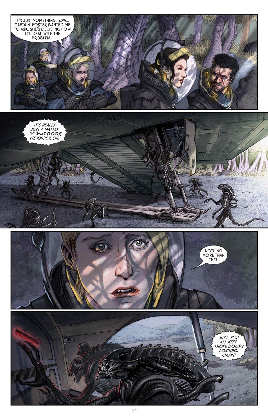 Бэтмен против Чужого?! Безумные комикс-кроссоверы сксеноморфами. - Изображение 12