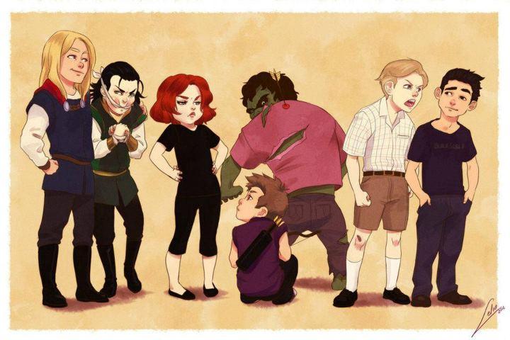 Галерея вариаций: Мстители-женщины, Мстители-дети... - Изображение 142