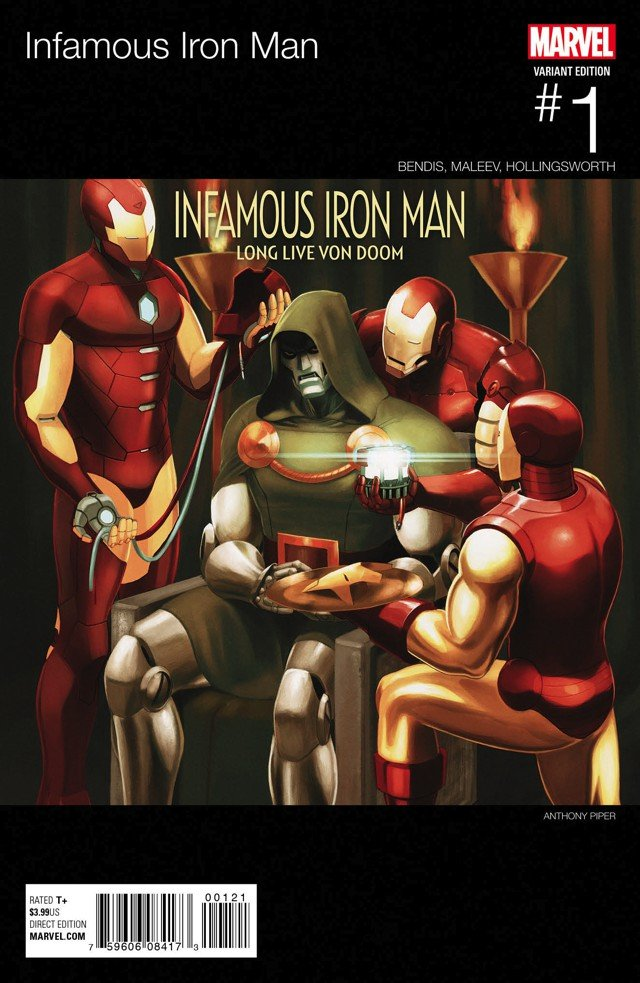 Marvel, завязывай! Соктября Железным Человеком станет Доктор Дум. - Изображение 3
