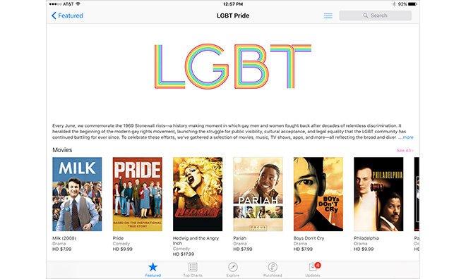 Apple создала в iTunes раздел с ЛГБТ-контентом - Изображение 1