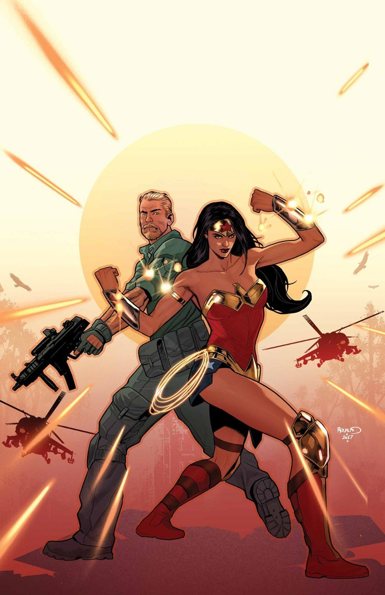 В преддверие «Чудо-женщины» DC выпустит комикс про Стива Тревора - Изображение 1