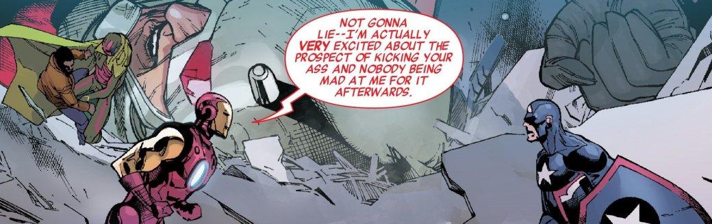 Secret Empire: противостоянию Стива Роджерса иТони Старка нет конца - Изображение 23