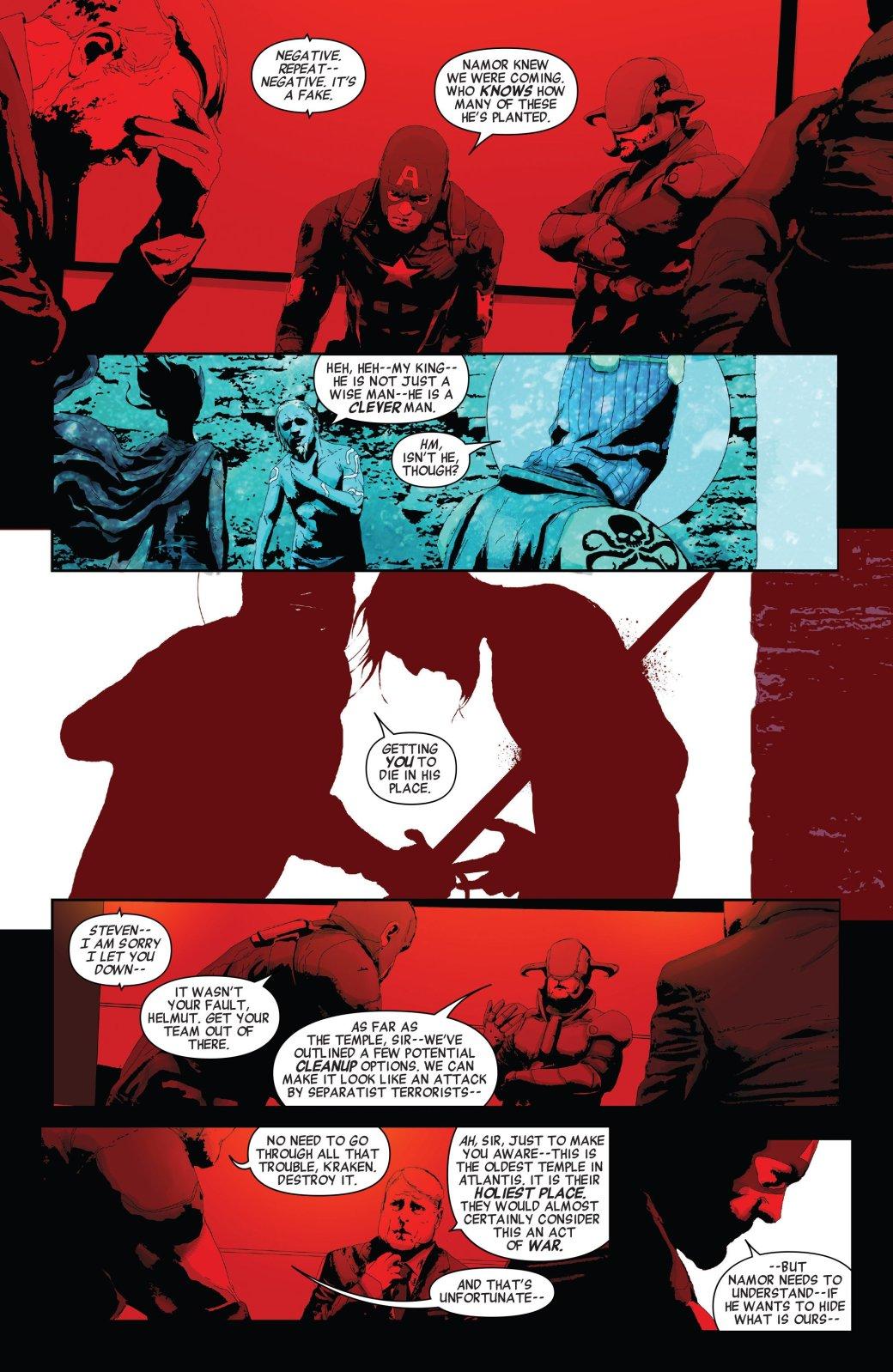 Secret Empire: Люди рады тому, что Гидра пришла к власти - Изображение 19