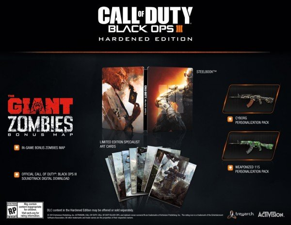 Black Ops 3: специальные издания и премьера Zombies - Изображение 2