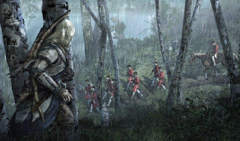 Первые кадры Assassin's Creed III были выложены в Сеть. - Изображение 2