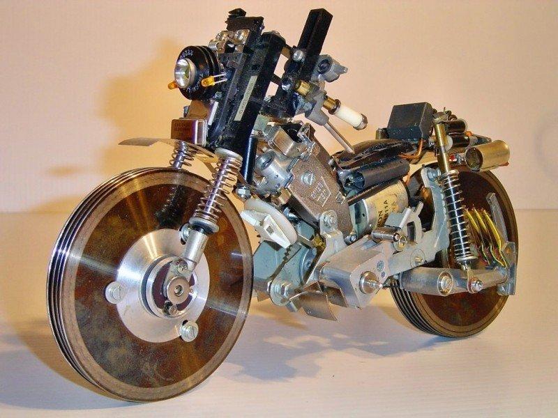 Как самостоятельно сделать мотоцикл 808