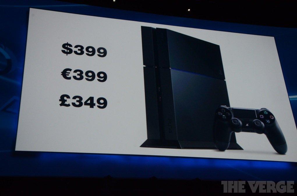 Цена консоли PlayStation 4 составит $ 399. - Изображение 1