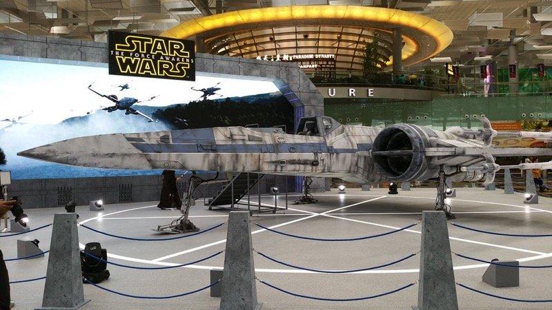 Истребители из Star Wars прилетают в Сингапур  - Изображение 1