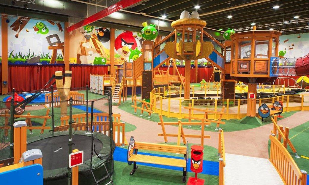 В Санкт-Петербурге откроют парк развлечений Angry Birds - Изображение 1