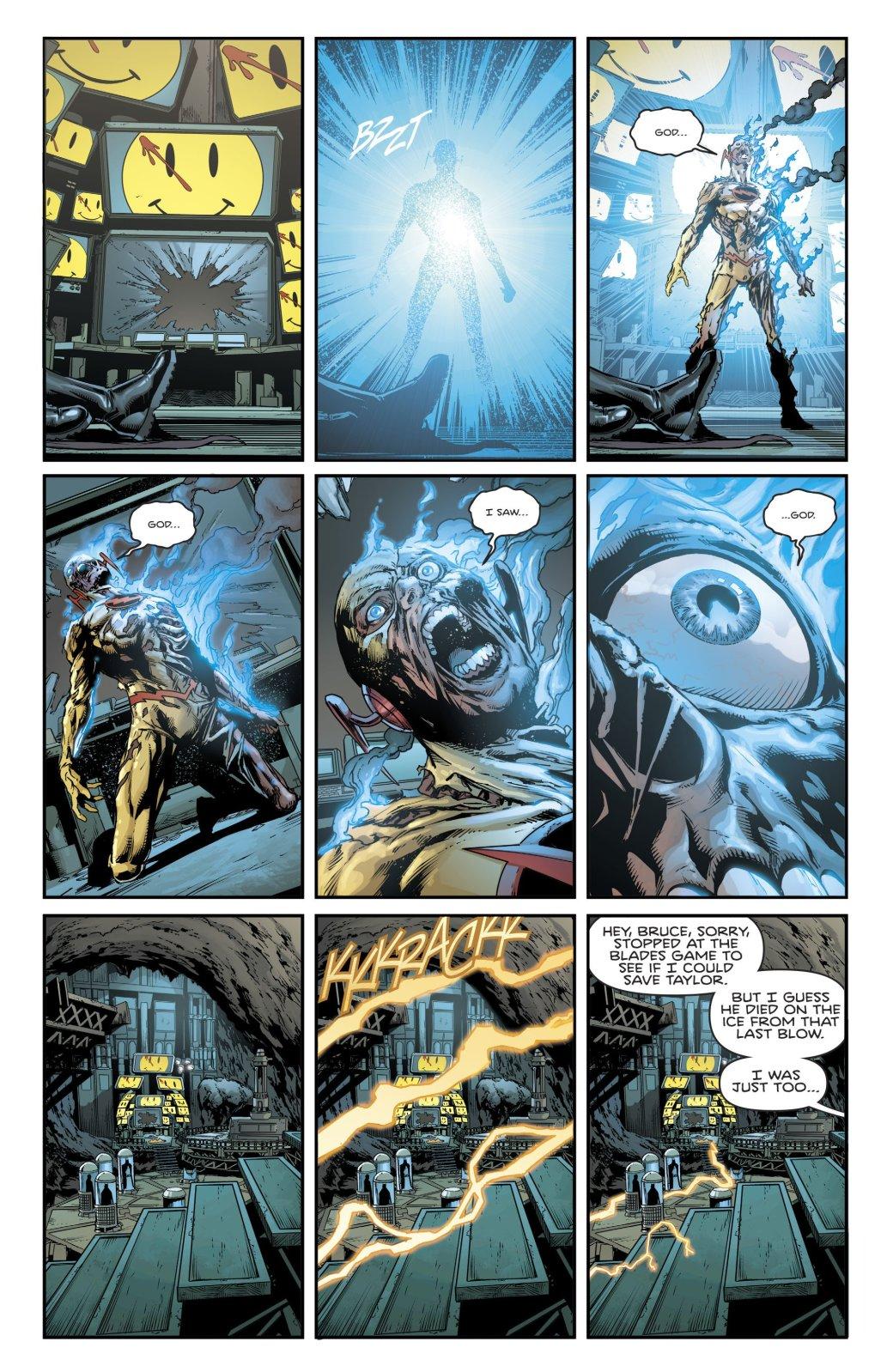 Куда привела Бэтмена и Флэша загадка значка Комедианта? - Изображение 6