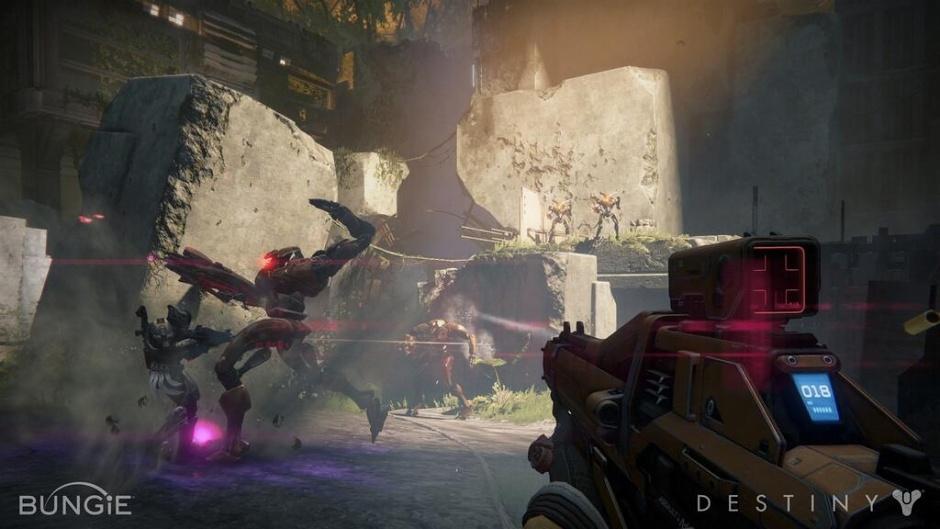 Новые кадры из Destiny запечатлели баталии и пейзажи - Изображение 1