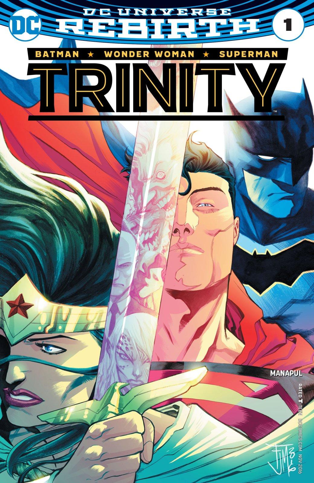 Какие серии DC Rebirth стоит читать? - Изображение 3