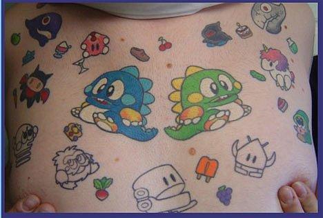 Татуировки фанатов видеоигр. - Изображение 17