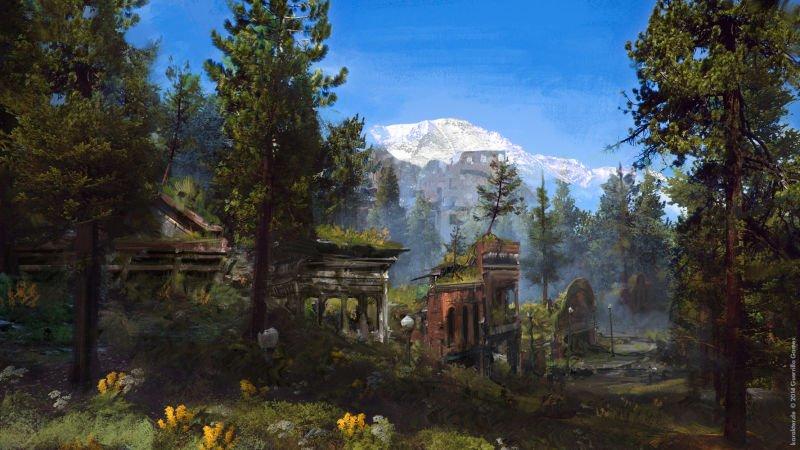 Прекрасные концепты Horizon: Zero Dawn отхудожников «Игры престолов» - Изображение 15