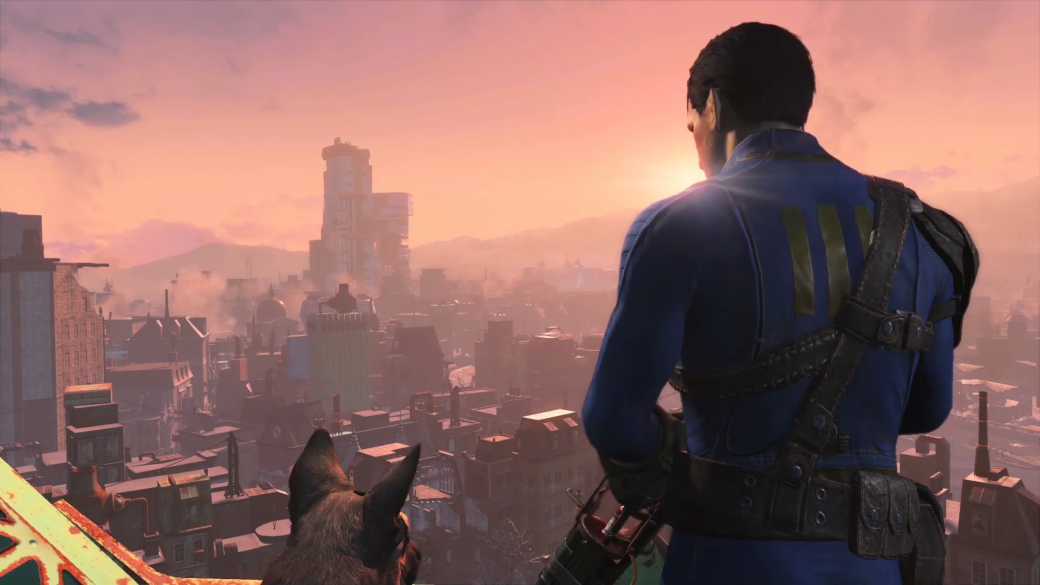Женщина, собака и пулемет на борту в новом арте и скринах Fallout 4 - Изображение 17