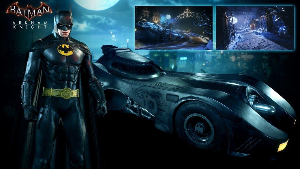 Arkham Knight: новые костюмы и Бэтмобиль в августе - Изображение 1