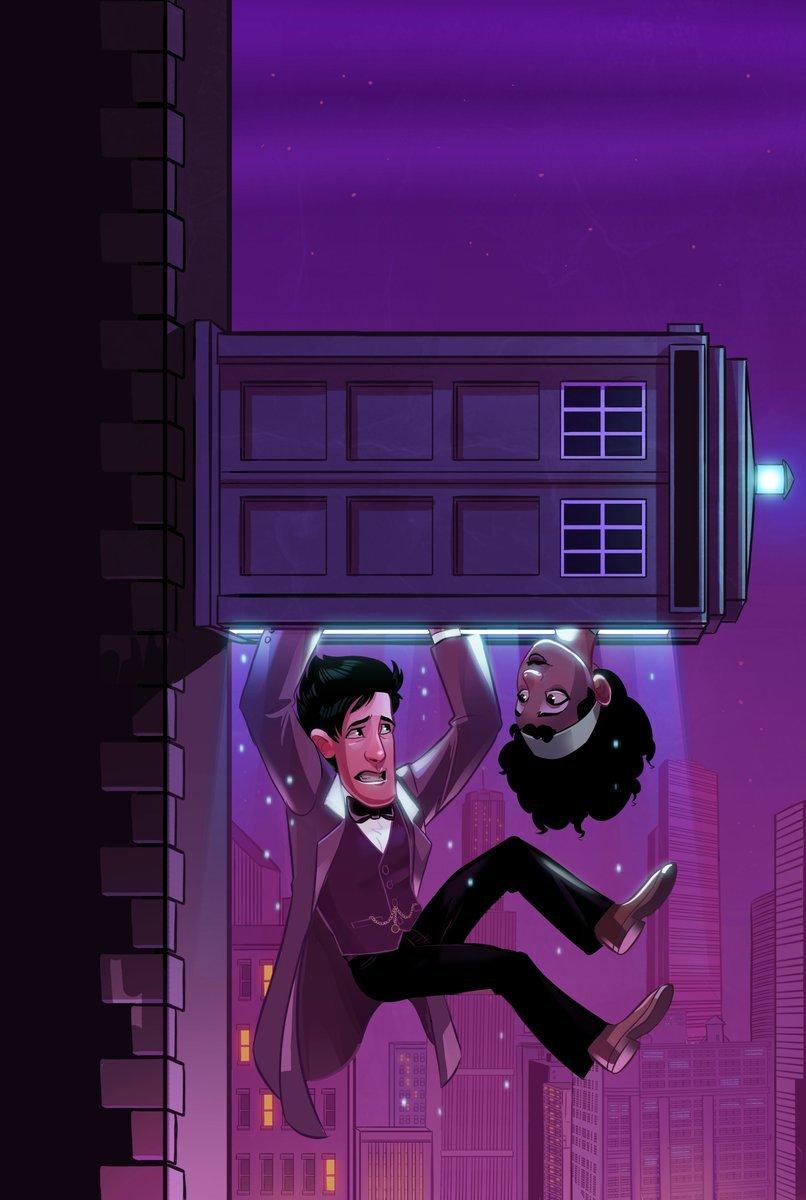 Четыре потрясающих Доктора на обложках комиксов «Доктор Кто» - Изображение 4