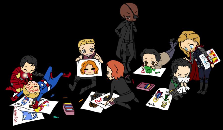 Галерея вариаций: Мстители-женщины, Мстители-дети... - Изображение 77