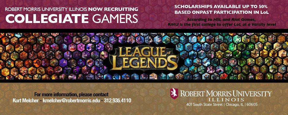 Университет в Чикаго собирает команду по League of Legends - Изображение 2