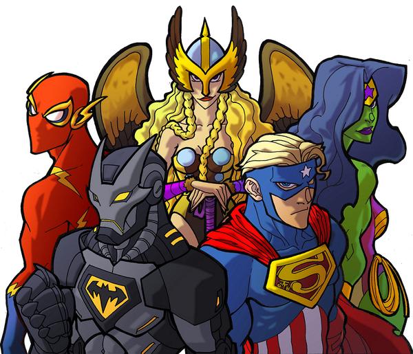 Галерея вариаций: Мстители-женщины, Мстители-дети... - Изображение 170