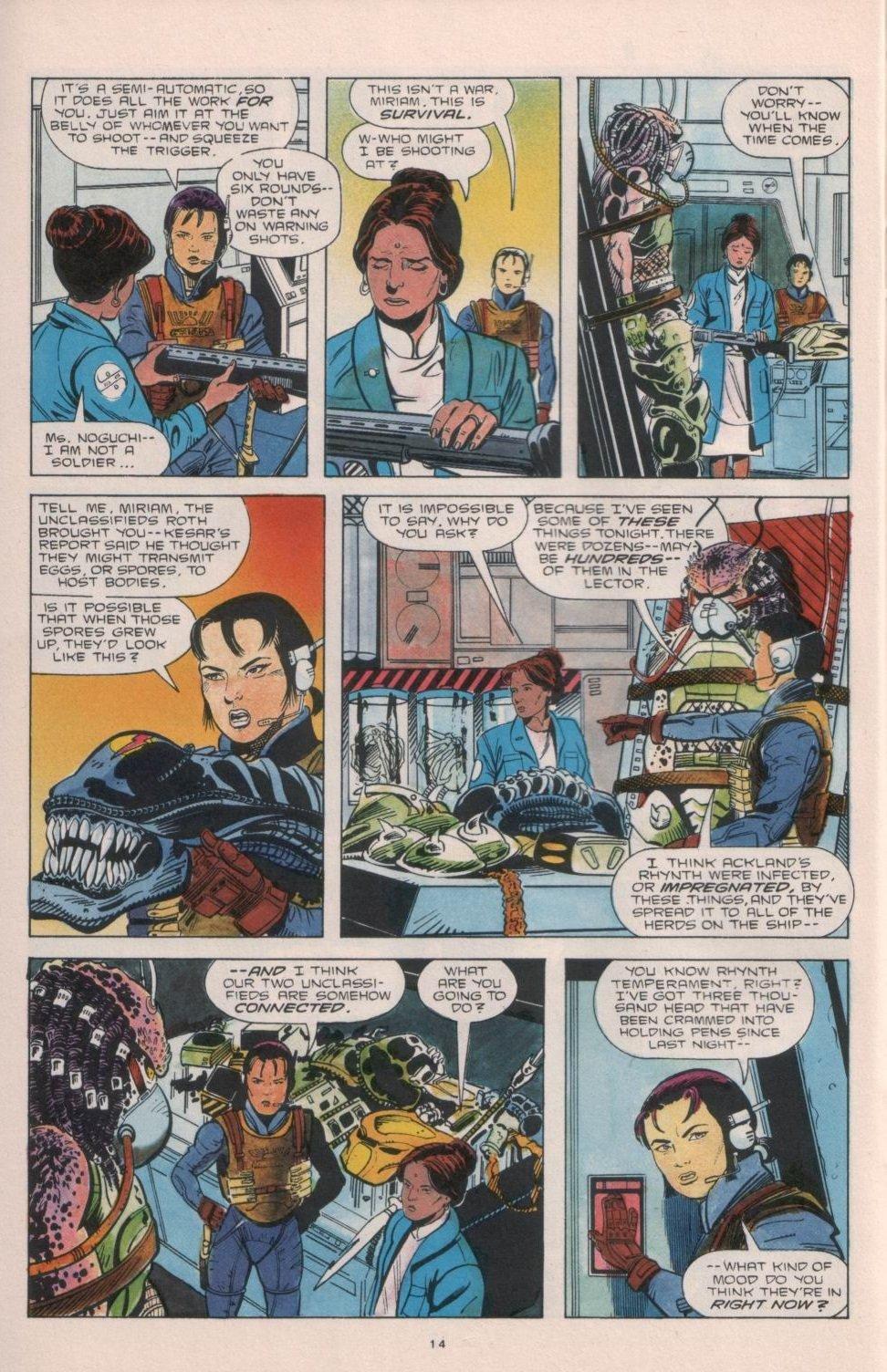 Бэтмен против Чужого?! Безумные комикс-кроссоверы сксеноморфами. - Изображение 5