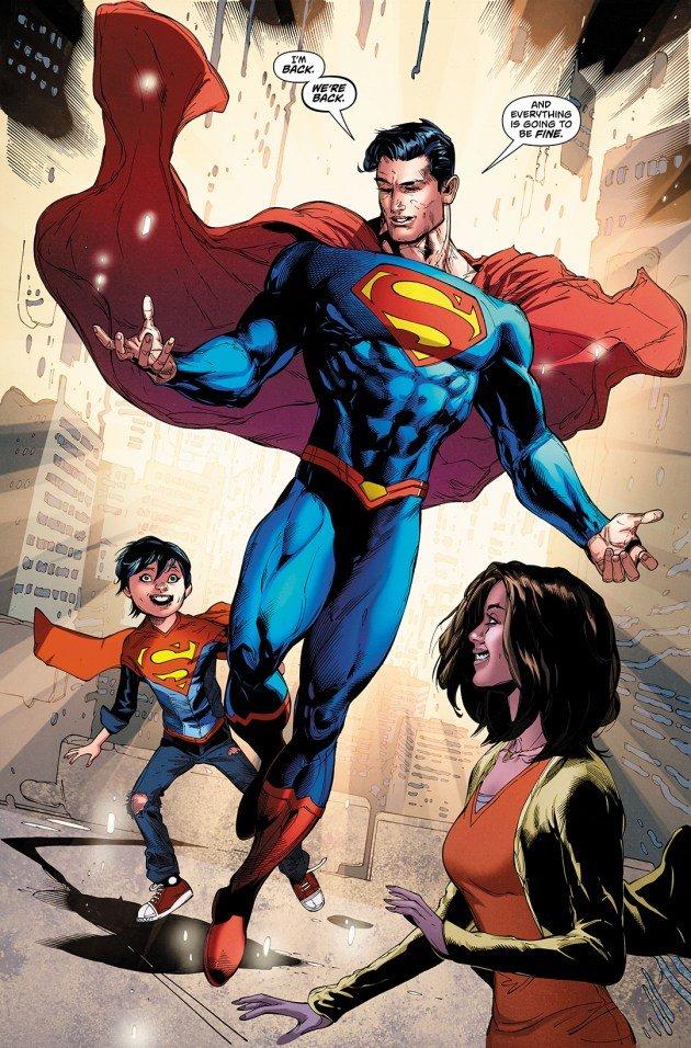 Вся вселенная DC Rebirth изменилась в финале Superman Reborn - Изображение 3