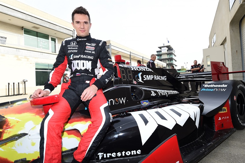 В IndyCar появилась машина с лого DOOM, которую водит русский - Изображение 1