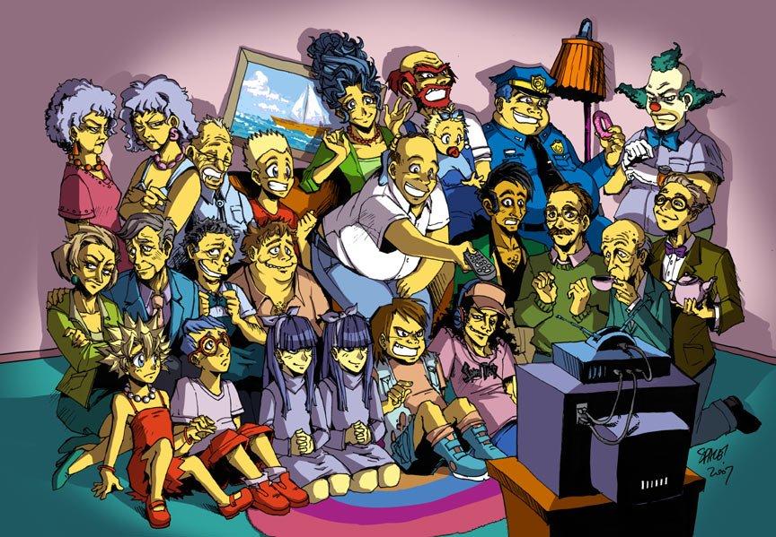 C днем рождения, Симпсоны - Изображение 4