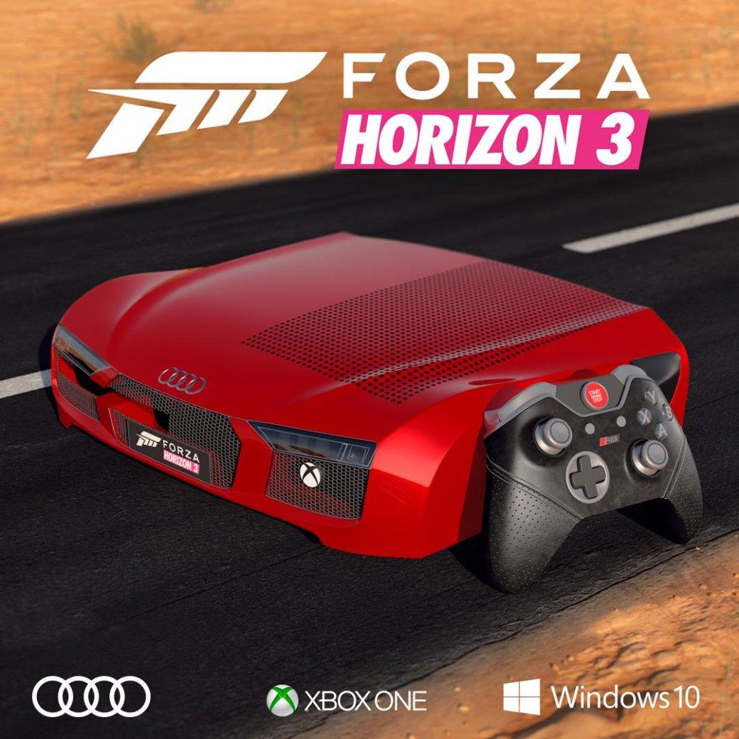 Немцы получат потрясающе уродливый Xbox One Sвстиле Forza Horizon3 - Изображение 1