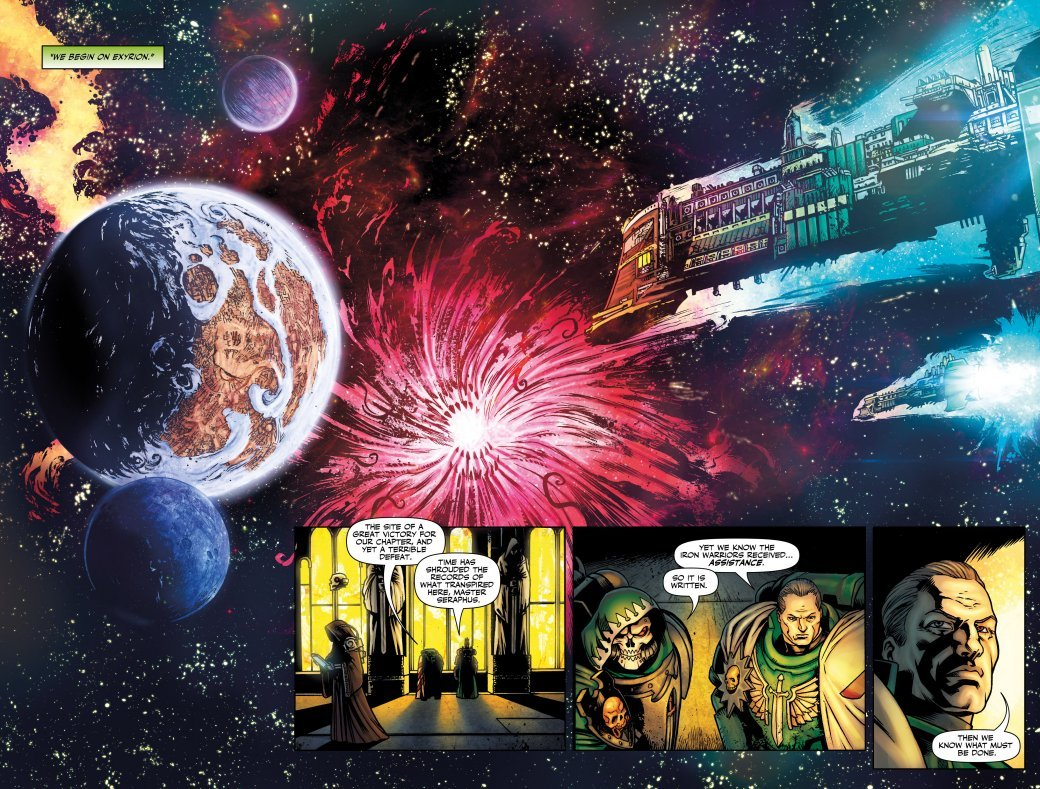 Самые крутые комиксы по Warhammer 40.000. - Изображение 21
