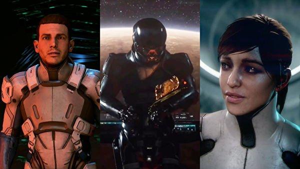 Персонаж из первого трейлера Mass Effect Andromeda – отец героя - Изображение 1