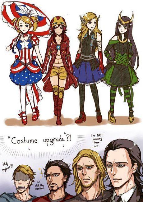 Галерея вариаций: Мстители-женщины, Мстители-дети... - Изображение 22