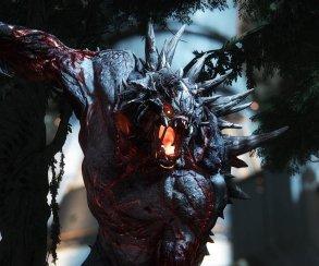Огнедышащее чудовище уложило охотника камнем в трейлере Evolve