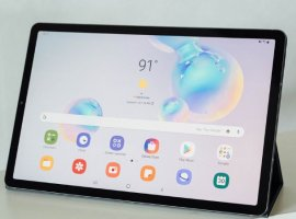Samsung представила планшет Galaxy Tab S6: теперь с двойной камерой и сканером отпечатков в экране