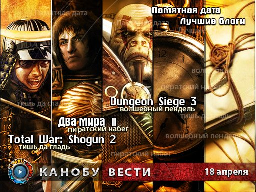Канобу-вести (18.04.2011)