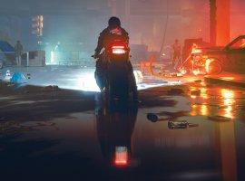 Мотоцикл инаноудавка нановых скриншотах Cyberpunk 2077