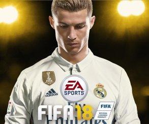 EAпредставила FIFA 18— сКриштиану Роналду наобложке