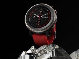 «Умные» часы Amazfit Smart Sports Watch 3 измеряют частоту сердечного ритма инебоятся воды