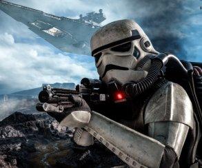 Гифка дня: мертвый, ноопасный штурмовик вStar Wars Battlefront