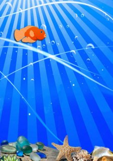 Flappy Cute Golden Fish : The Ocean Splashy Adventure - Gold