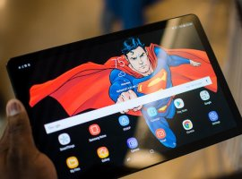 Samsung представила тонкий илегкий флагманский планшет Galaxy Tab S5e