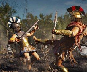 Безбашенная боевка,очень хорошая лошадь и This Is Sparta: подробности Assassin's Creed Odyssey