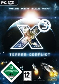 X³: Terran Conflict – фото обложки игры