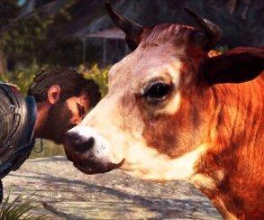 Гифка дня: отряд коров прибыл вJust Cause3