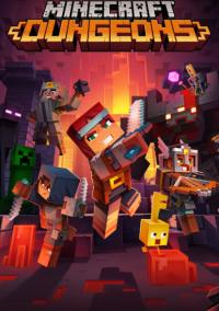 Minecraft Dungeons – фото обложки игры